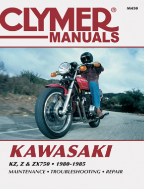 Kawasaki KZ, Z and ZX750 Motorcycle (1980-1985) Service Repair Manual