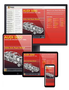 Audi 5000 with Gas Engines (77-83) Haynes Online Manual