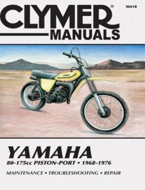 Yamaha 80-175cc Piston-Port Motorcycle (1968-1976) Service Repair Manual