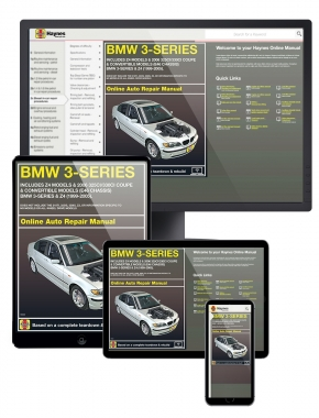 BMW 3-Series and Z4 (99-05) Includes 2006 325ci/330ci Coupe and Convertible models Haynes Online Manual.