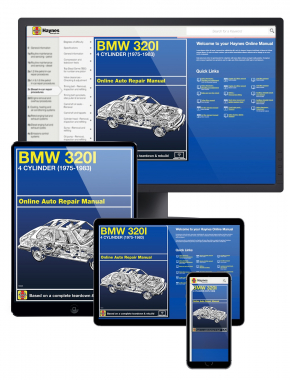 BMW 320i 4 cylinder (75-83) Haynes Online Manual