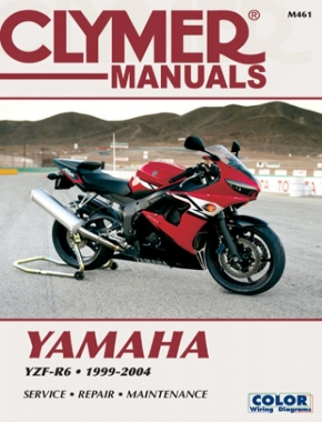 Yamaha YZF-R6 Motorcycle (1999-2004) Service Repair Manual Online Manual