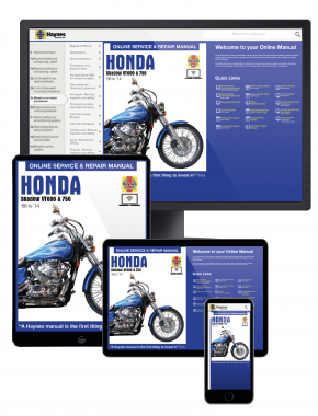 Honda VT600 and VT750 Shadow (1988-2014) Haynes Online Manual
