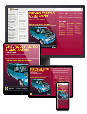 Chevrolet Astro and GMC Safari (85-05) Haynes Online Manual