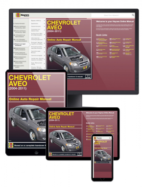 Chevrolet Aveo 2004-2011 Online Manual