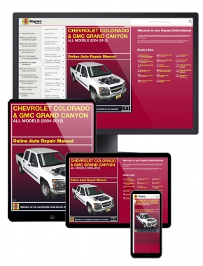 Chevrolet Colorado and GMC Canyon (04-12) Haynes Online Manual