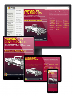 Chevrolet Luv Pick-ups with Gas Engines (72-82) Haynes Online Manual