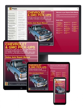 Chevy and GMC Pick-ups Full-size Light-duty Gasoline Engine Models (88-98) Haynes Online Manual