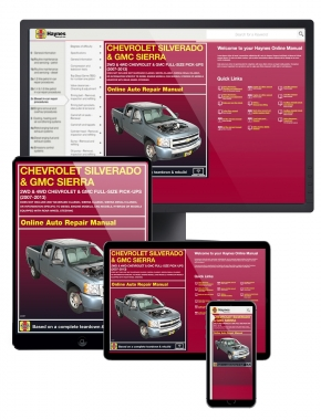 Chevy and GMC Full-size Pick-ups (07-13) Haynes Online Manual