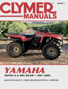 Yamaha Moto-4 & Big Bear ATV (87-04) Clymer Repair Manual