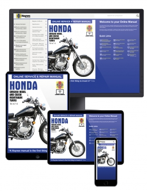 Honda CMX250 Rebel and CB250 Nighthawk Twins (1985-2014) Haynes Online Manual