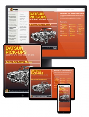 Datsun Pick-ups 620 Series with OHC engine (73-79) Haynes Online Manual