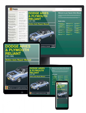 Dodge Aries & Plymouth Reliant (81-89) Haynes Online Manual