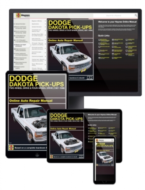 Dodge Dakota Pick-ups (87-96) Haynes Online Manual
