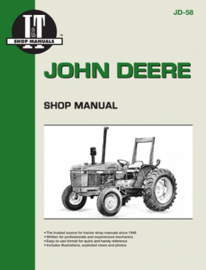 John Deere Model 2150-2555 Tractor Service Repair Manual