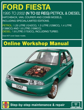 Ford Fiesta Petrol and Diesel (Oct 95 - Mar 02) N to 02 Haynes Online Manual