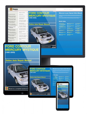 Ford Contour and Mercury Mystique (95-00) Haynes Online Manual