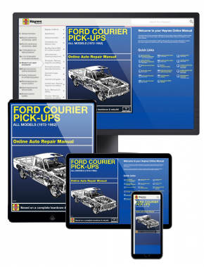 Ford Courier Pick-ups (72-82) Haynes Online Manual