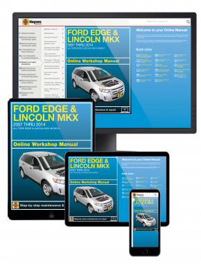 Ford Edge and Lincoln MKX 2007-2014 Haynes Online Manual