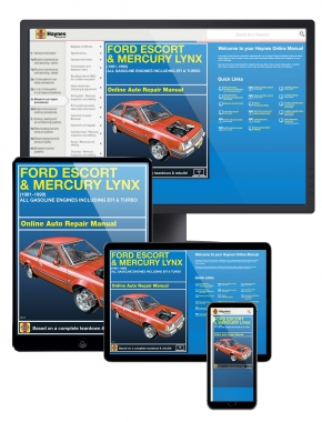 Ford Escort & Mercury Lynx Gasoline Engines including EFI and Turbo (81-90) Haynes Online Manual