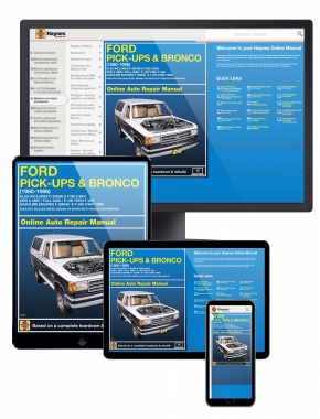 Ford F-100 thru F-350 Pick-ups and Bronco (80-96) (Also includes F-250HD and F350 for 1997) Haynes Online Manual