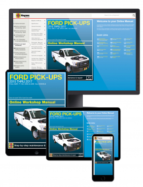 Ford Full-size F-150 2WD & 4WD Pick-ups (2015-2017) Haynes Online Manual