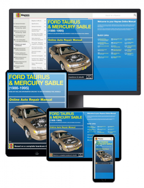Ford Taurus and Mercury Sable (86-95) Haynes Online Manual