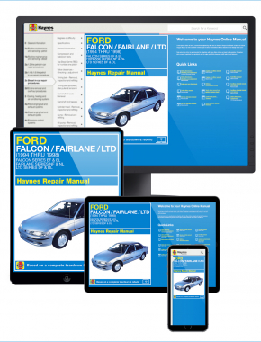 Ford Falcon, Fairlane and LTD (94-98) Haynes Online Manual