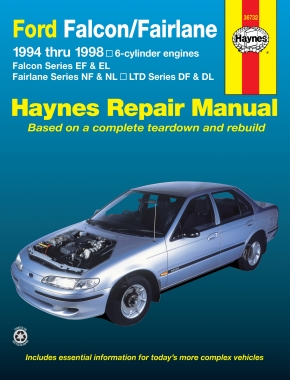 Ford Falcon, Fairlane and LTD (94-98) Haynes Repair Manual