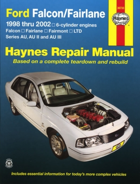 Ford Falcon (98-02), Fairlane (98-02) & LTD (98-02) Haynes Repair Manual