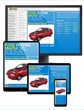 Ford Festiva (91-97) and Mazda 121 (87-90) Haynes Online Manual