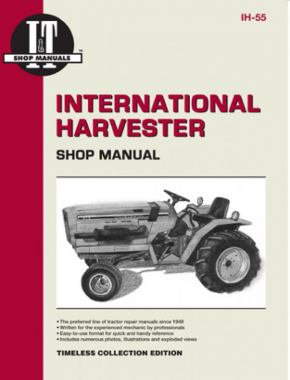 International Harvester (Farmall) 234, 234 Hydro, 244 & 254 Tractor Service Repair Manual