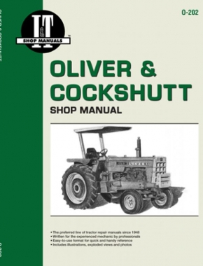 Oliver & Cockshutt 1550-2255 Diesel Tractor & 1550-1950T Gas Tractor Service Repair Manual
