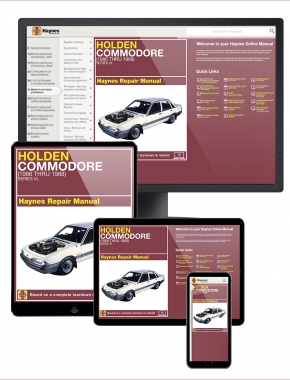Holden Commodore (86-88) Haynes Online Manual