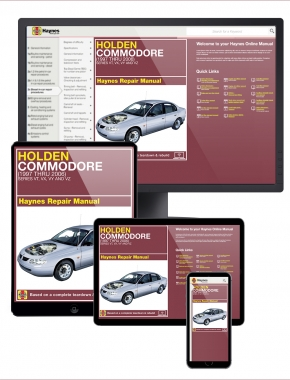 Holden Commodore (97-06) Haynes Online Manual