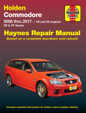 Holden Commodore 2006-2017 Haynes Repair Manual