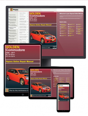 Holden Commodore (2006-2017) Haynes Online Manual