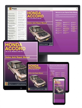 Honda Accord 1.8L & 2.0L Models (84-89) Haynes Online Manual