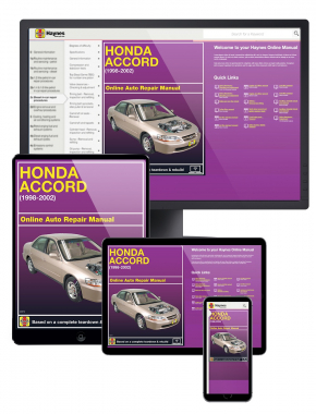 Honda Accord (98-02) Haynes Online Manual