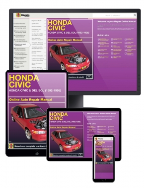 Honda Civic and del Sol (92-95) Haynes Online Manual