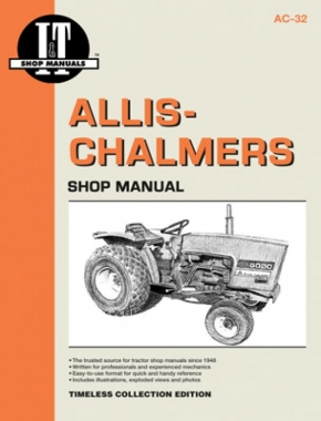 Allis-Chalmers I&T AC-32 Shop Service Manual