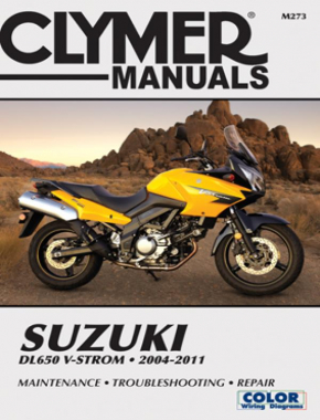 Suzuki DL650 V-Strom Motorcycle (2004-2011) Service Repair Manual Online Manual