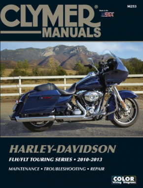 Harley-Davidson FLH/FLT Touring Series Motorcycle (2010-2013) Service Repair Manual