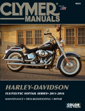 Harley-Davidson FLS/FXS/FXC Softail Series Motorcycle (2011-2016) Service Repair Manual