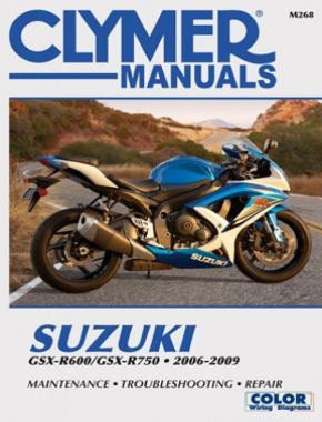Suzuki GSX-R600/750 Motorcycle (2006-2009) Service Repair Manual Online Manual