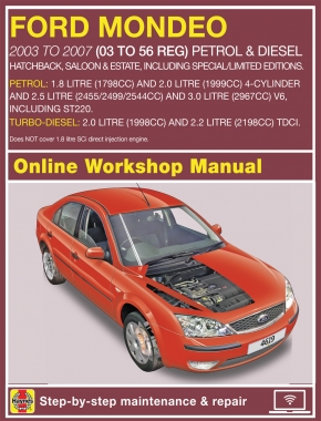 Mondeo Haynes Manuals border=