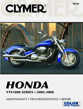 Honda VTX1800 Series Motorcycle (2002-2008) Service Repair Manual