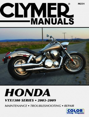 Honda VTX1300 Series Motorcycle (2003-2009) Service Repair Manual Online Manual