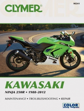 Kawasaki Ninja 250 Motorcycle (1988-2012) Service Repair Manual Online Manual