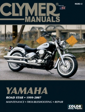 Yamaha Road Star Series Motorcycle (1999-2007) Service Repair Manual Online Manual